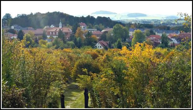 Pohled na Ochranov z Hutbergu
